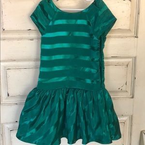 Gymboree emerald dress